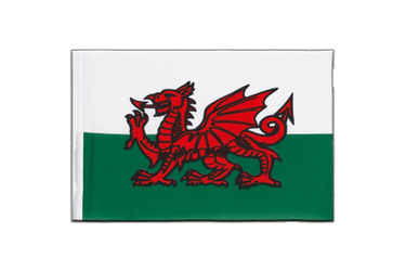 Wales - Little Flag 6x9""