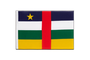 Central African Republic Little Flag 6x9""