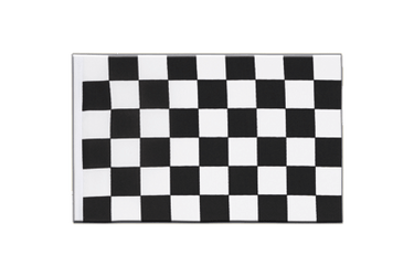 Checkered Little Flag 6x9""