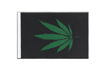 Cannabis Reggae Satin Flag 6x9""