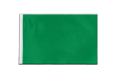 Green Satin Flag 6x9""