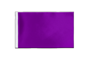 Purple Satin Flag 6x9""