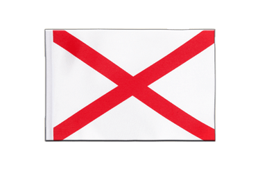 St. Patrick cross - Satin Flag 6x9""