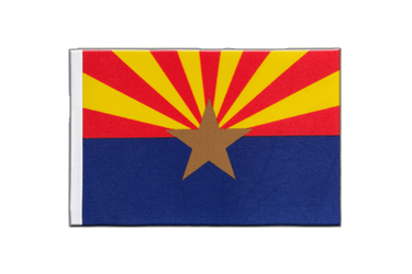 Arizona - Satin Flagge 15 x 22 cm