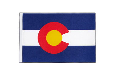 Colorado - Satin Flagge 15 x 22 cm