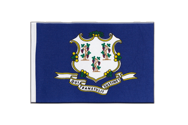 Connecticut - Satin Flagge 15 x 22 cm