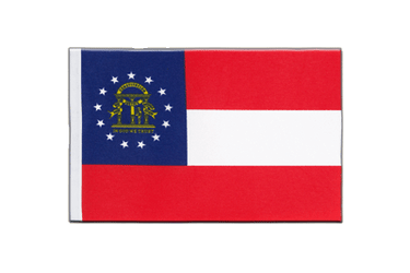 Georgia Satin Flag 6x9""