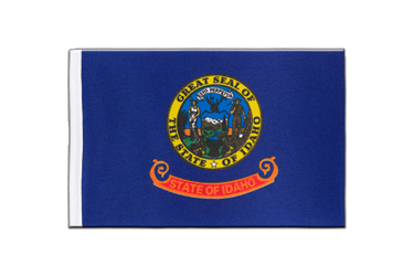 Idaho Satin Flag 6x9""