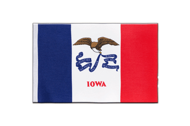 Iowa Satin Flag 6x9""