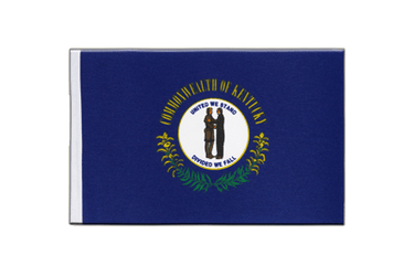 Kentucky Satin Flag 6x9""