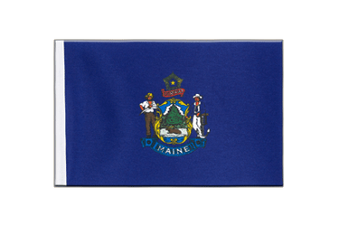 Maine Satin Flag 6x9""