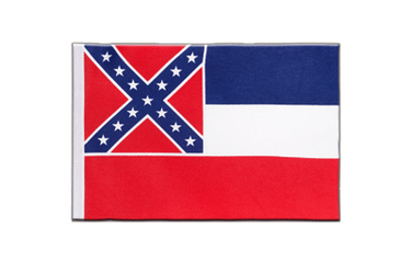 Mississippi Satin Flag 6x9""