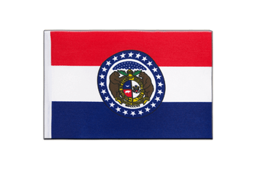 Missouri Satin Flag 6x9""