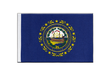 New Hampshire - Satin Flag 6x9""
