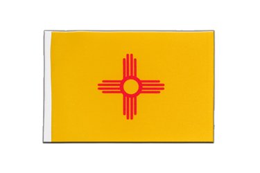 New Mexico Satin Flagge 15 x 22 cm