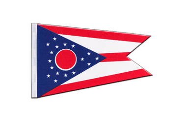 Ohio Satin Flag 6x9""