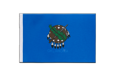 Oklahoma - Satin Flag 6x9""