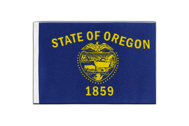 Oregon Satin Flag 6x9""