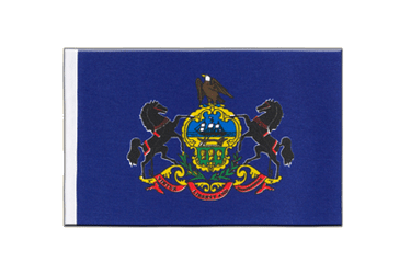 Pennsylvania Satin Flag 6x9""