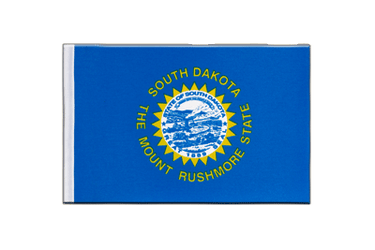 Dakota du Sud (South Dakota) Drapeau en satin 15 x 22 cm