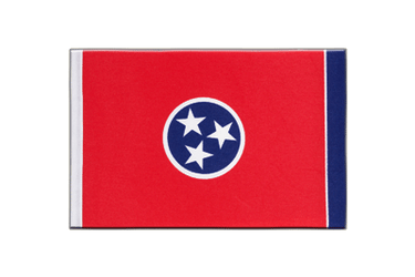 Tennessee Satin Flag 6x9""
