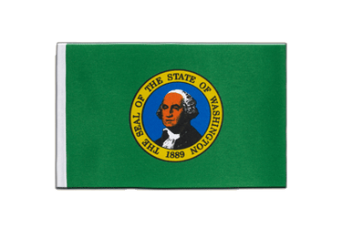 Washington Satin Flagge 15 x 22 cm