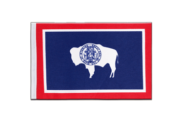 Wyoming - Satin Flag 6x9""