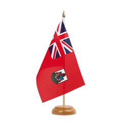 "Bermuda Table Flag 6x9"", wooden"