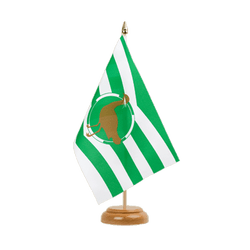 "Wiltshire new Table Flag 6x9"", wooden"