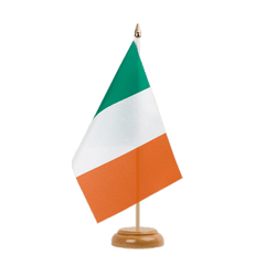 "Ireland - Table Flag 6x9"", wooden"