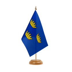 "Munster Table Flag 6x9"", wooden"
