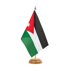 "Jordan Table Flag 6x9"", wooden"