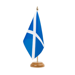 "Scotland - Table Flag 6x9"", wooden"