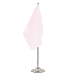 Drapeau de table prestige Rose - 15 x 22 cm