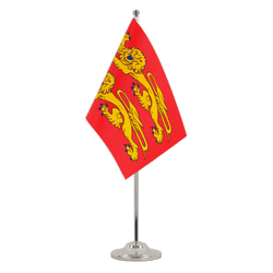 Basse Normandie Drapeau de table 15 x 22 cm, prestige