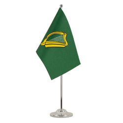 Drapeau de table prestige Leinster - 15 x 22 cm