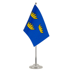 Drapeau de table prestige Munster 15 x 22 cm
