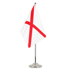 Alabama - Satin Table Flag 6x9""