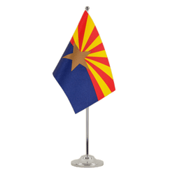 Arizona - Satin Table Flag 6x9""