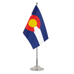 Colorado - Satin Table Flag 6x9""