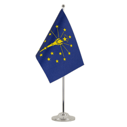 Drapeau de table prestige Indiana - 15 x 22 cm
