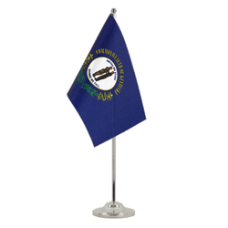 Kentucky - Satin Table Flag 6x9""