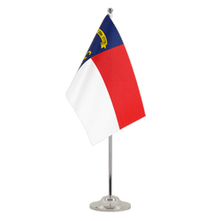 Drapeau de table prestige North Carolina - 15 x 22 cm