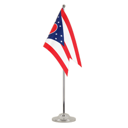 Drapeau de table prestige Ohio - 15 x 22 cm