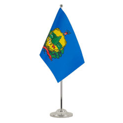 Vermont Satin Table Flag 6x9""