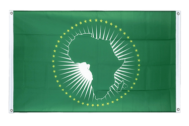African Union AU Banner Flag 3x5 ft, landscape
