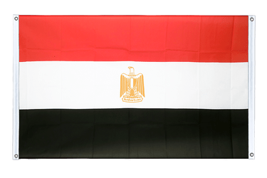 Egypt Banner Flag 3x5 ft, landscape