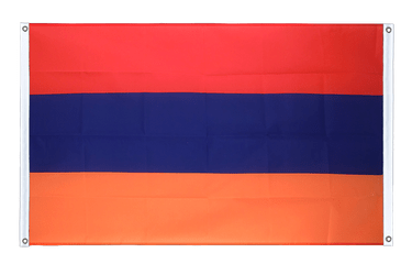 Armenia Banner Flag 3x5 ft, landscape