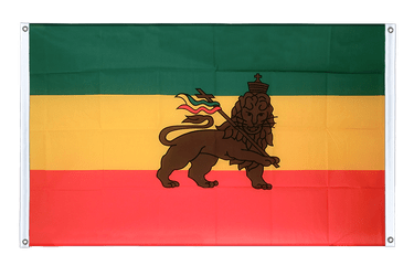 Ethiopia old Banner Flag 3x5 ft, landscape