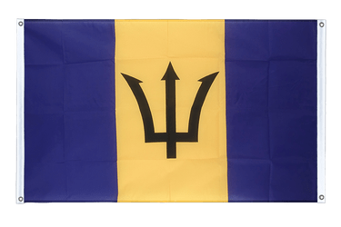 Barbados Banner Flag 3x5 ft, landscape